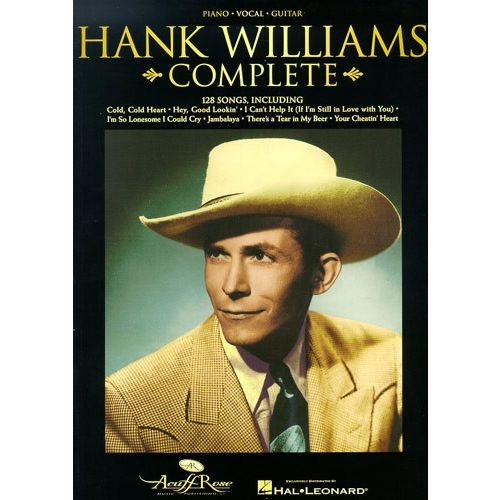 MUSIC SALES HANK WILLIAMS COMPLETE - PVG