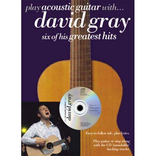 WISE PUBLICATIONS GRAY DAVID - PLAY ACOUSTIC GUITAR - GUITAR TAB