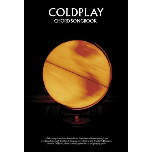 WISE PUBLICATIONS COLDPLAY - CHORD SONGBOOK - LYRICS AND CHORDS