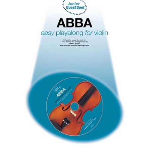 WISE PUBLICATIONS GUEST SPOT JUNIOR - ABBA EASY PLAYALONG - VIOLON