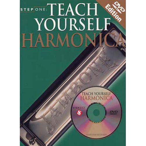 WISE PUBLICATIONS STEP ONE TEACH YOURSELF HARMONICA + DVD - HARMONICA