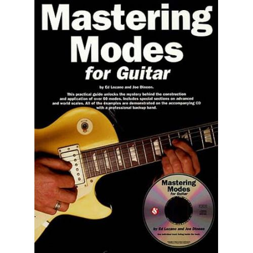 MUSIC SALES MASTERING MODES 'FOR GUITAR' + CD - GUITAR