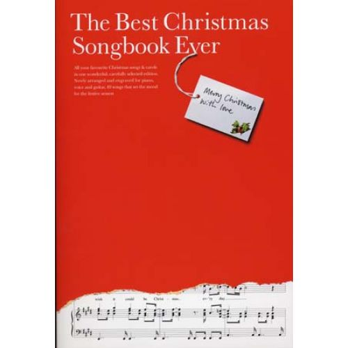 WISE PUBLICATIONS BEST CHRISTMAS SONGBOOK EVER - PVG