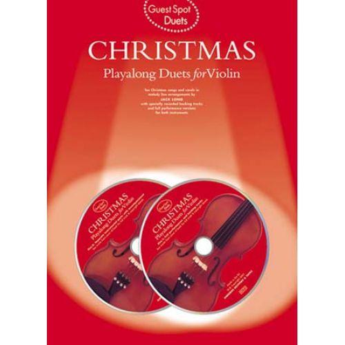 MUSIC SALES GUEST SPOT - DUETS CHRISTMAS - VIOLON + 2 CD