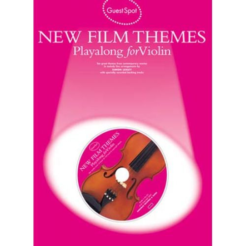 MUSIC SALES GUEST SPOT - NEW FILM THEMES + CD - VIOLON
