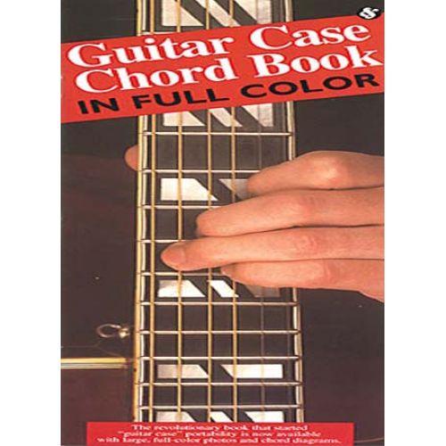 MUSIC SALES GUITAR CASE CHORD BOOK FULL COLOUR