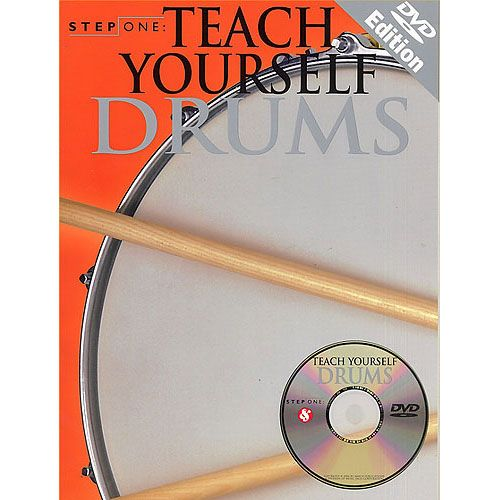 MUSIC SALES STEP ONE TEACH YOURSELF DRUMS + DVD - DRUMS