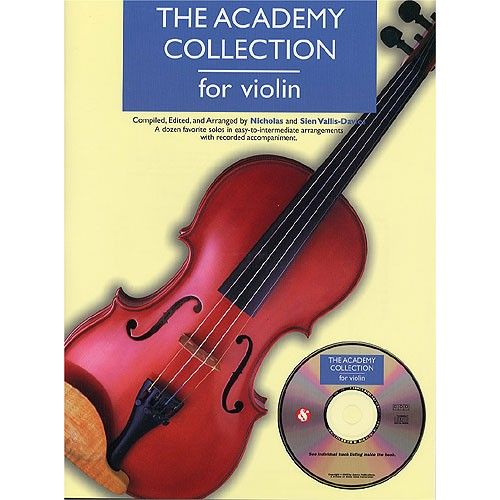 MUSIC SALES THE ACADEMY COLLECTION VIOLIN + CD - VIOLIN