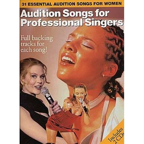WISE PUBLICATIONS AUDITION SONGS FOR PROFESSIONAL SINGERS - PVG