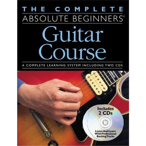 WISE PUBLICATIONS THE COMPLETE ABSOLUTE BEGINNERS GUITAR COURSE - CD PACK - GUITAR