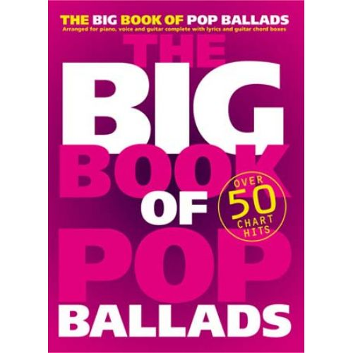 WISE PUBLICATIONS THE BIG BOOK OF POP BALLADS - PVG