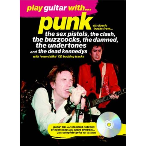 MUSIC SALES PLAY GUITAR WITH PUNK + CD - GUITAR TAB