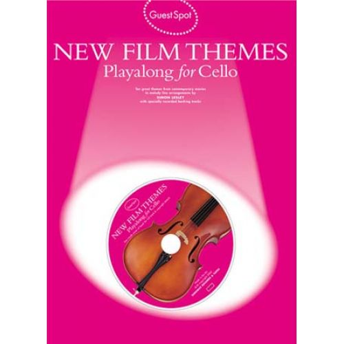 WISE PUBLICATIONS GUEST SPOT - NEW FILM THEMES + CD - CELLO