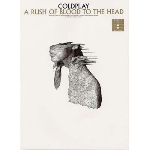 WISE PUBLICATIONS COLDPLAY - A RUSH OF BLOOD TO THE HEAD TAB