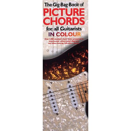 WISE PUBLICATIONS GIG BAG BOOK OF GUITAR PICTURE CHORDS IN COLOUR - GUITAR