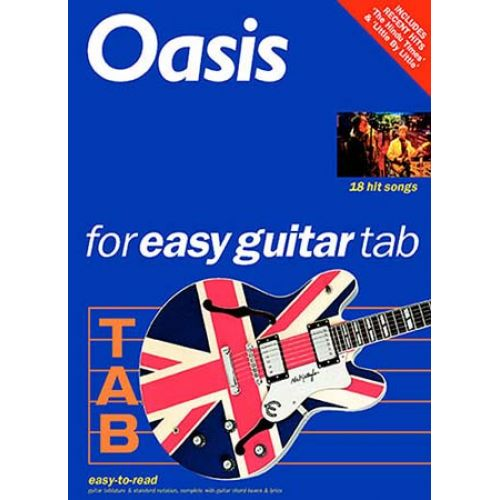 MUSIC SALES OASIS FOR EASY GUITAR TAB REVISED EDITION - GUITAR TAB