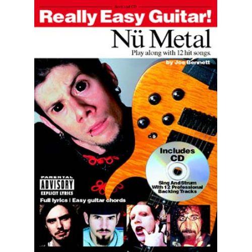 WISE PUBLICATIONS JOE BENNETT - REALLY EASY GUITAR! NU METAL + CD - GUITAR