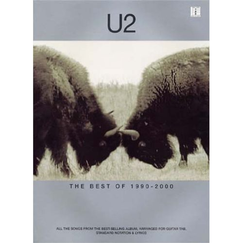 WISE PUBLICATIONS U2 - BEST OF 1990-2000