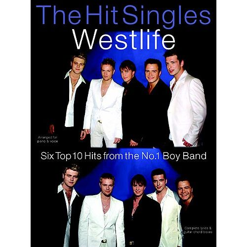WISE PUBLICATIONS THE HIT SINGLES WESTLIFE - PVG