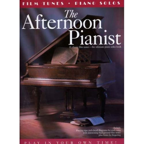 MUSIC SALES AFTERNOON PIANIST 21 FILM TUNES - PIANO SOLOS