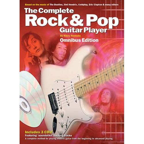 WISE PUBLICATIONS RIKKY ROOKSBY - COMPLETE ROCK AND POP GUITAR PLAYER OMNIBUS EDITION GT - GUITAR