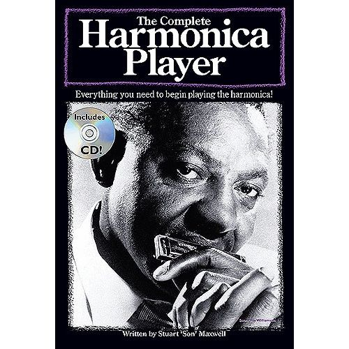 WISE PUBLICATIONS THE COMPLETE HARMONICA PLAYER - HARMONICA