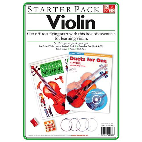 WISE PUBLICATIONS IN A BOX STARTER PACK VIOLIN + CD - VIOLIN