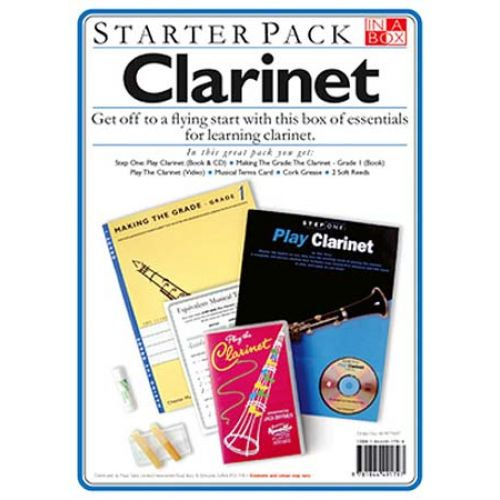 WISE PUBLICATIONS IN A BOX STARTER PACK + CD - CLARINET
