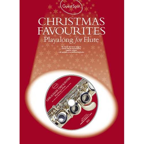 WISE PUBLICATIONS GUEST SPOT CHRISTMAS FAVORITES FLUTE + CD