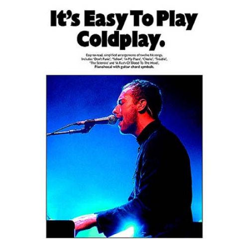 WISE PUBLICATIONS COLDPLAY - IT'S EASY TO PLAY - PVG