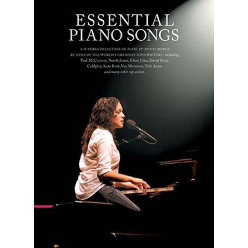 WISE PUBLICATIONS ESSENTIAL PIANO SONGS BOOK 1 - PVG