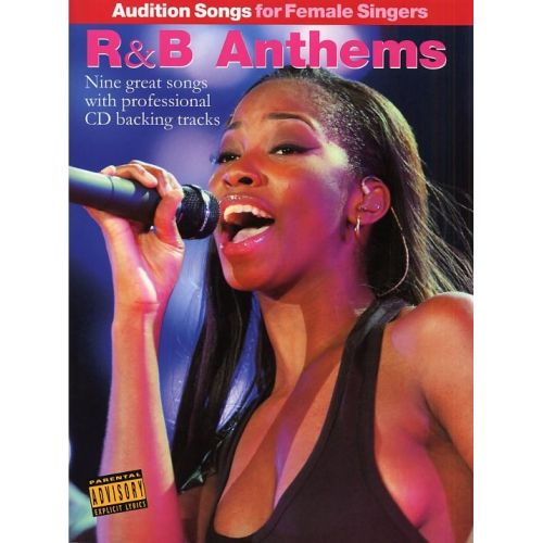 WISE PUBLICATIONS R&B ANTHEMS - AUDITION SONGS FOR FOR FEMALE SINGERS - PVG