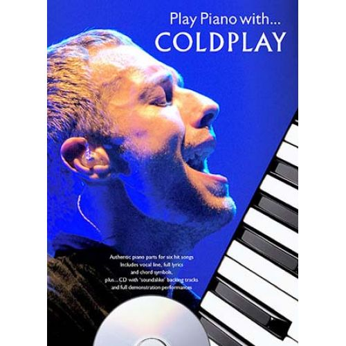 MUSIC SALES COLDPLAY - PLAY PIANO WITH + CD