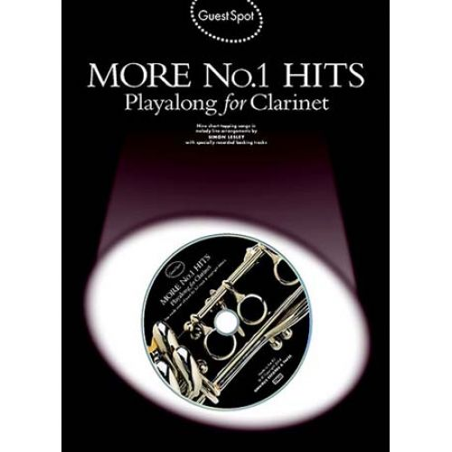MUSIC SALES GUEST SPOT - MORE N°1 HITS + CD - CLARINET