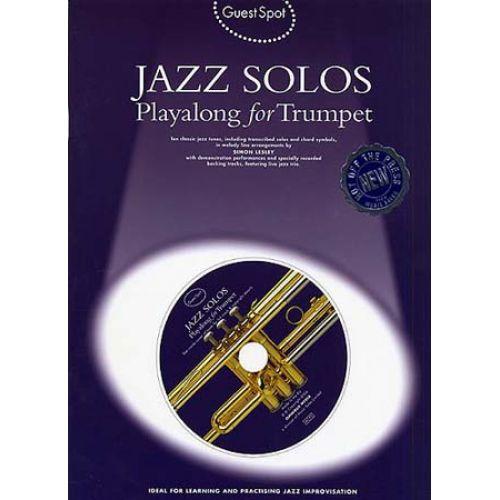 MUSIC SALES GUEST SPOT - JAZZ SOLOS + CD - TROMPETTE
