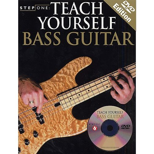 MUSIC SALES STEP ONE TEACH YOURSELF+ DVD - BASS GUITAR
