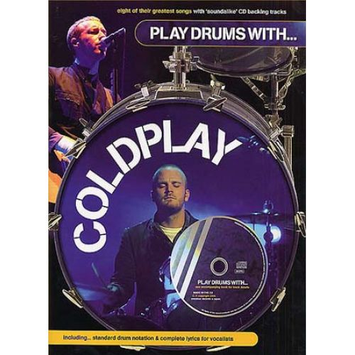 WISE PUBLICATIONS COLDPLAY PLAY DRUMS WITH + CD