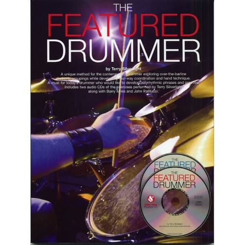 WISE PUBLICATIONS THE FEATURED DRUMMER DRUMS + 2CD - DRUMS