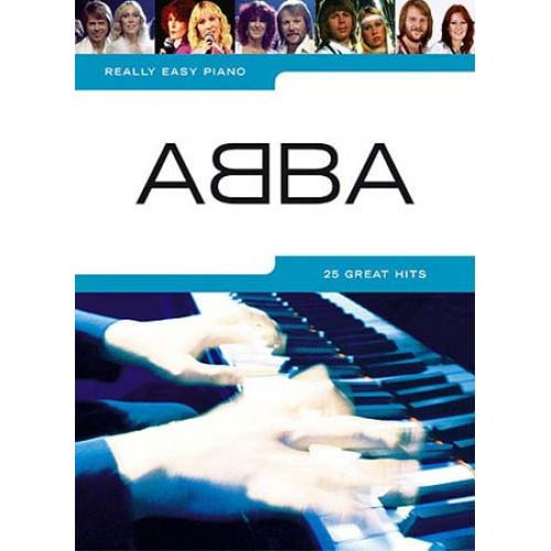 WISE PUBLICATIONS REALLY EASY PIANO - ABBA