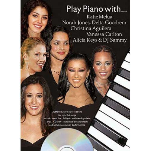 WISE PUBLICATIONS PLAY PIANO WITH KATIE MELUA, NORAH JONES, DELTA GOODREM, CHRISTINA AGUILERA, VANESSA CARLTON...