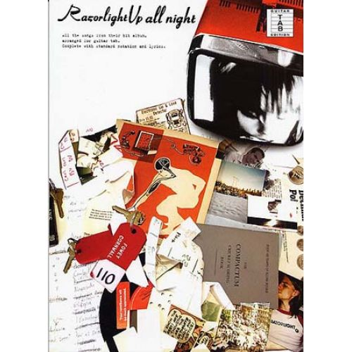 WISE PUBLICATIONS RAZORLIGHT - UP ALL NIGHT - GUITAR TAB