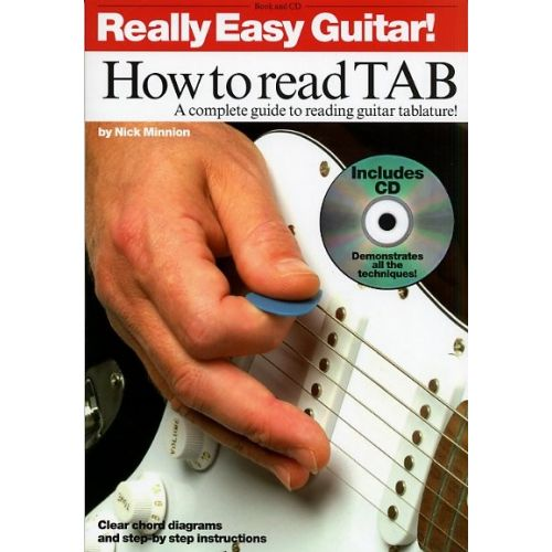 WISE PUBLICATIONS REALLY EASY GUITAR - HOW TO READ - GUITAR TAB