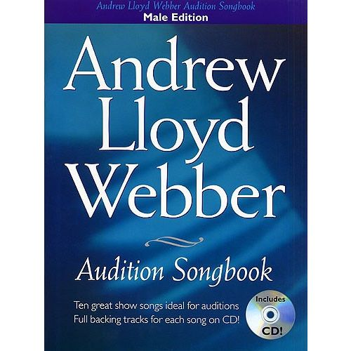 WISE PUBLICATIONS ANDREW LLOYD WEBBER AUDITION SONGBOOK PVG + CD - PVG