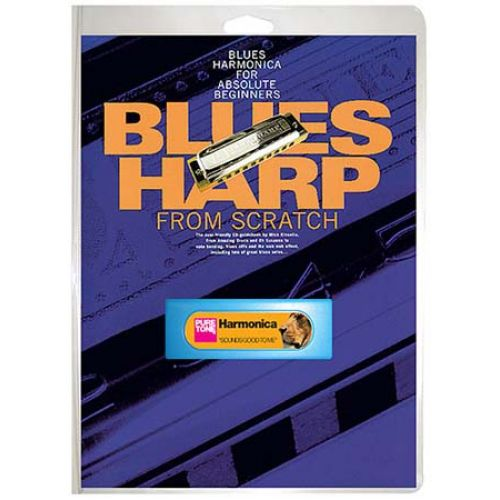 WISE PUBLICATIONS BLUES HARP FROM SCRATCH HARM + CD - HARMONICA