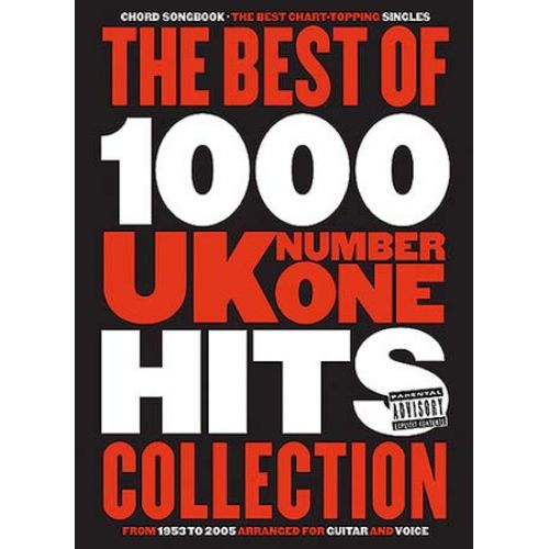 WISE PUBLICATIONS BEST OF 1000 UK N°1 HITS COLLECTION - CHORD SONGBOOK