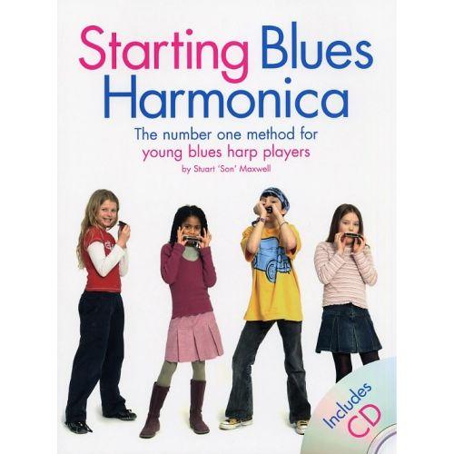 WISE PUBLICATIONS STARTING BLUES HARMONICA + CD - HARMONICA