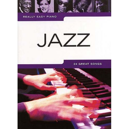 WISE PUBLICATIONS REALLY EASY PIANO - JAZZ