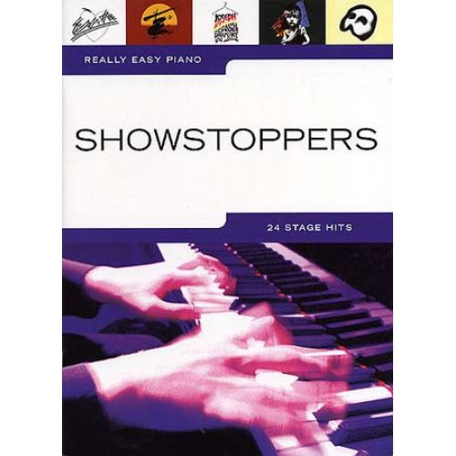 WISE PUBLICATIONS REALLY EASY PIANO - SHOWSTOPPERS