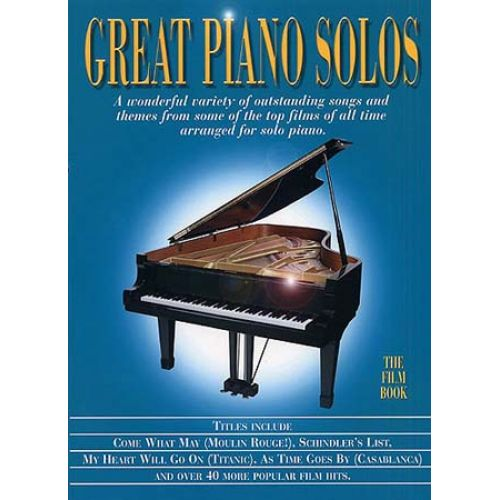 WISE PUBLICATIONS GREAT PIANO SOLOS THE FILM BOOK