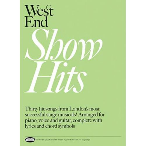 WISE PUBLICATIONS WEST END SHOW HITS - PVG
